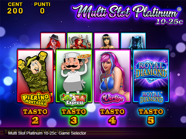 Multi Slot Platinum 2