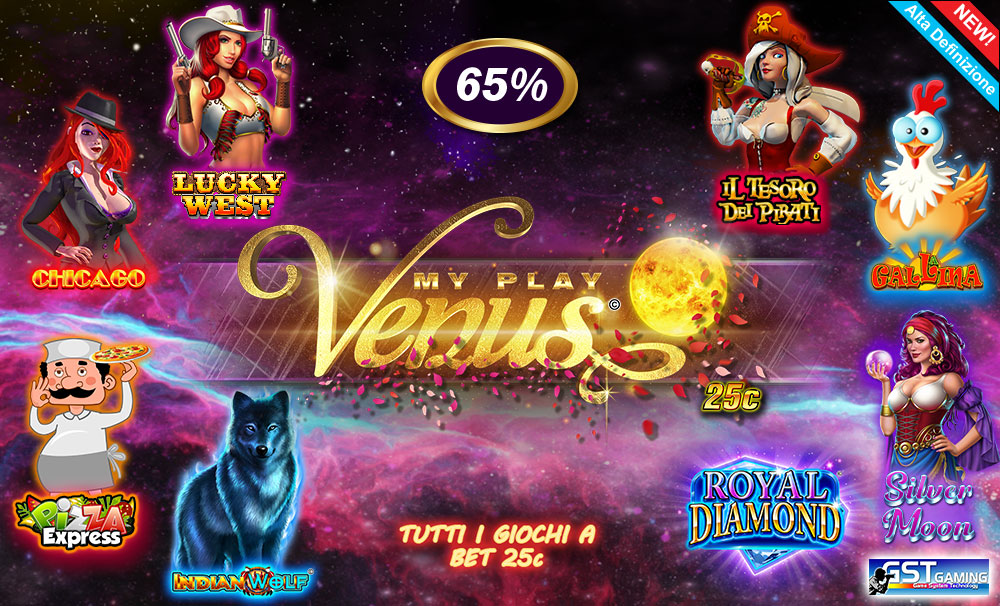 My Play Venus 25c (GST Gaming S.r.l.)